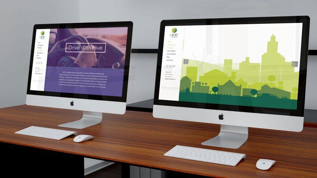 Driver and rider web portal